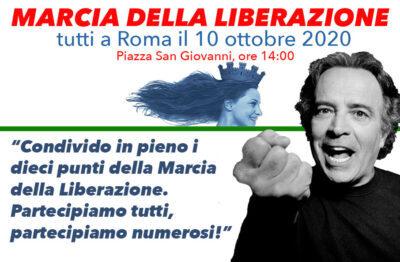 MARCIA DELLA LIBERAZIONE - ROMA 10 OTTOBRE 2020